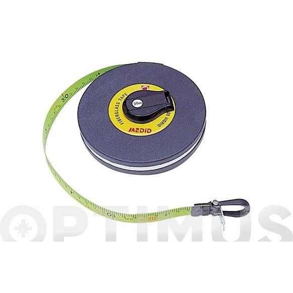 CINTA METRICA 1400 50 MT-15 MM FLUO