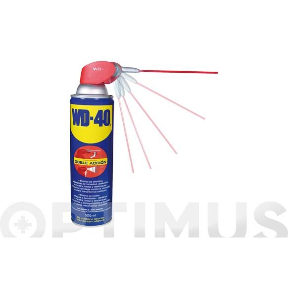 LUBRICANTE WD-40 DOBLE ACCION 500 ML
