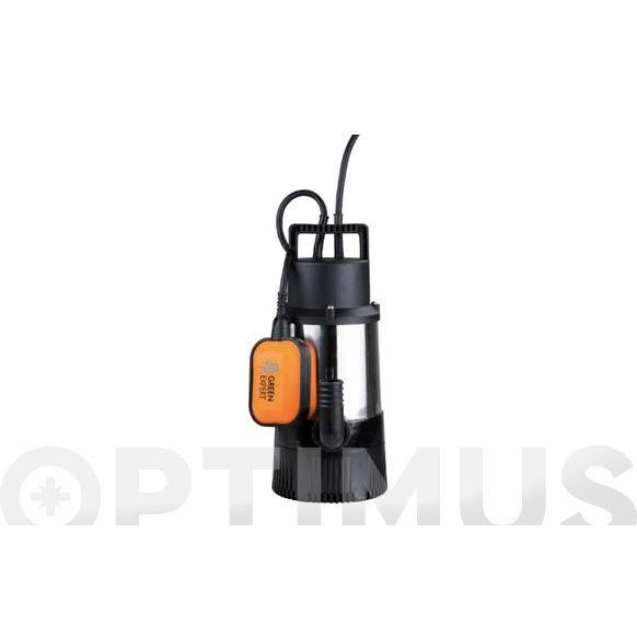 BOMBA SUMERGIBLE AGUAS LIMPIAS INOX 800W 30MT 5.500L/H  GXPRT -AI800V